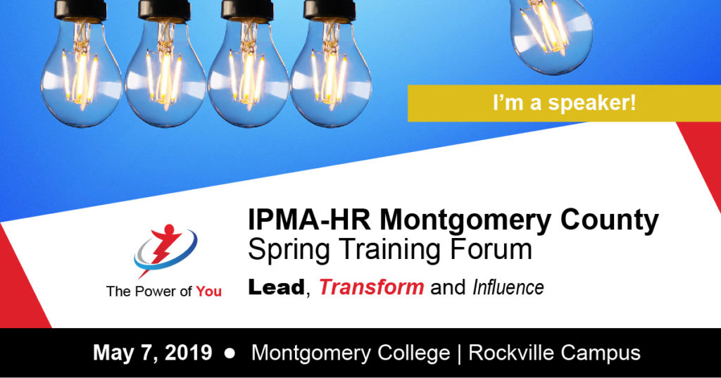 Beth Speaks: IPMA-HR Montgomery County
